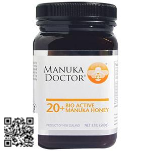 20 Биоактивный мед Manuka