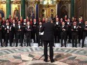 «Пополам гори земля». ВИсаакиевском соборе хор спел песню про «бомбить Америку»