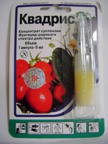 Квадрис фунгицид инструкция по применению для винограда