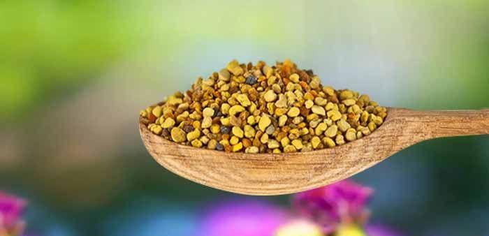 Чайная ложка с пыльцой