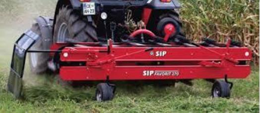 Ленточные грабли для трактора