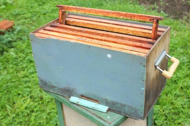 Ловушка для пчёл с рамками