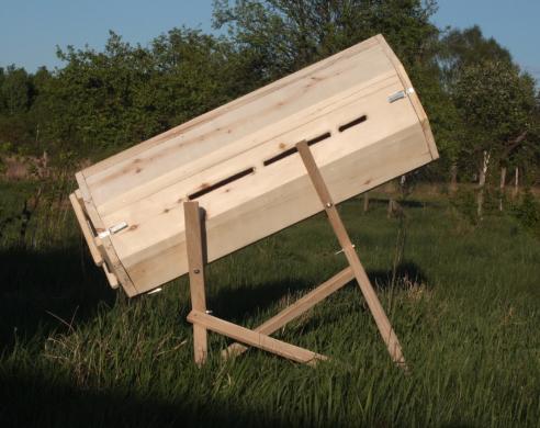 Уютная колода для пчел