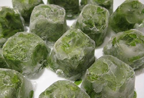 Травяной лед