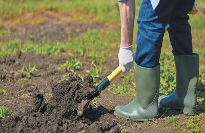 Перекапывание земли