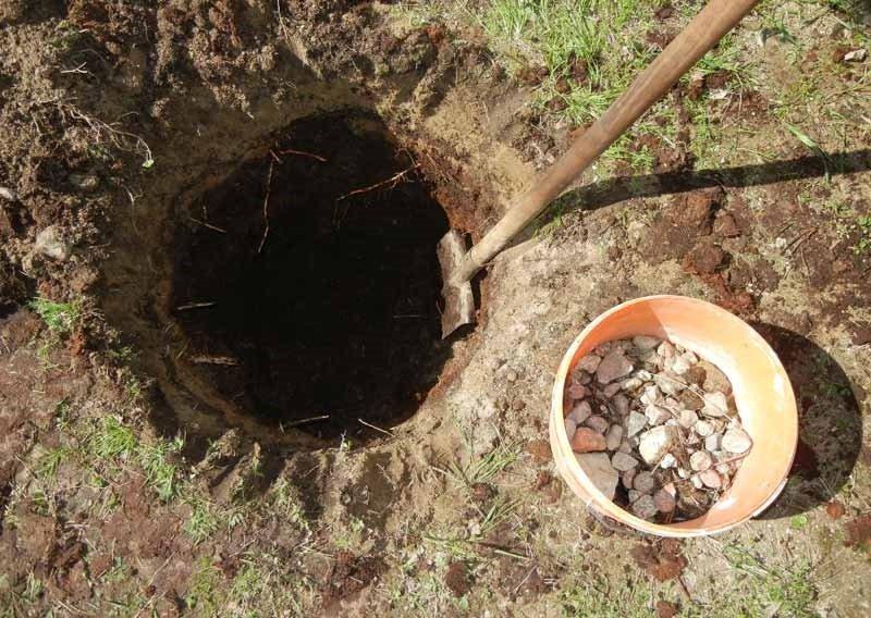 Посадка в яму