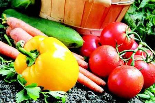 соседство между овощами