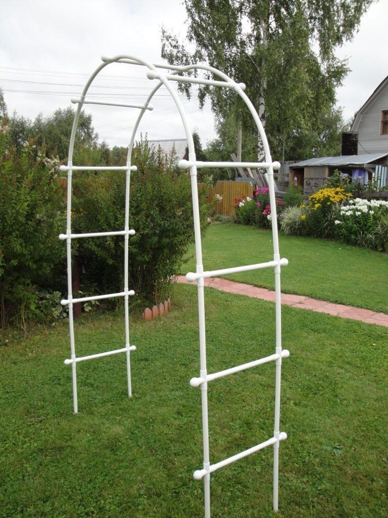 Садовая арка из отдельных элементов