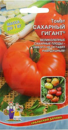 Томат Сахарный гигант — характеристика и описание сорта