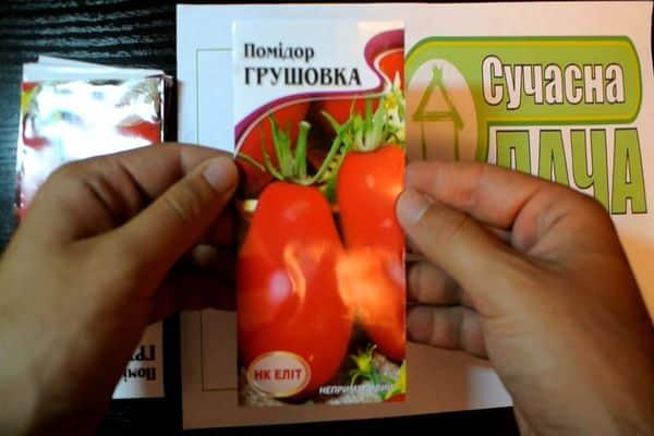 томат грушовка