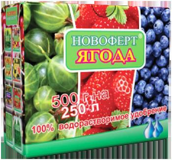 Удобрение Новоферт ягода