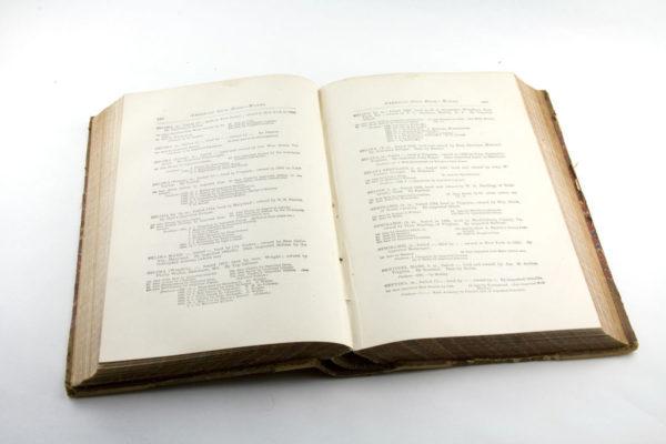 В конце XIX в. издается племенная книга породы